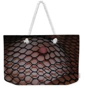 Black Fishnet Weekender Tote Bag