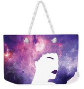 Black Girl Magic Lavender Weekender Tote Bag