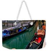 Black Gondola Weekender Tote Bag