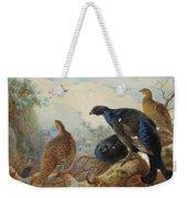 Black Grouse And Gamebirds By Thorburn Weekender Tote Bag