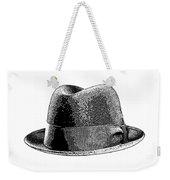 Black Hat T-shirt Weekender Tote Bag