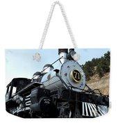 Black Hawk Train Weekender Tote Bag