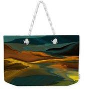 Black Hills Abstract Weekender Tote Bag