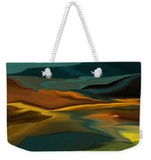 Black Hills Abstract Weekender Tote Bag