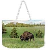 Black Hills Bull Bison Weekender Tote Bag