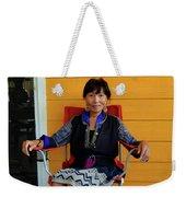 Black Hmong Sapa 3 Weekender Tote Bag