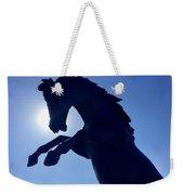 Black Horse Weekender Tote Bag