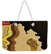 Black Is Beautiful Weekender Tote Bag
