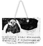 Black Ivory Issue 1 Page 3 Weekender Tote Bag
