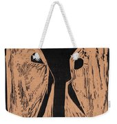 Black Ivory Issue 1 Woodcut Weekender Tote Bag