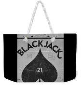 Black Jack  Weekender Tote Bag