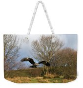 Black Kite Weekender Tote Bag