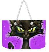 Black Kitten Weekender Tote Bag