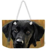Black Lab Weekender Tote Bag