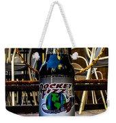 Black Licorice Weekender Tote Bag