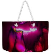 Black Light Passion Weekender Tote Bag