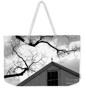 Black Lightning Weekender Tote Bag