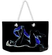 Black Lite Weekender Tote Bag