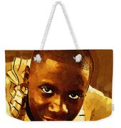 Young Black Male Teen 1 Weekender Tote Bag