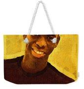 Young Black Male Teen 2 Weekender Tote Bag
