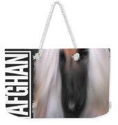 Black Masked Afghan No 10 Weekender Tote Bag
