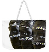 Black Masks Weekender Tote Bag