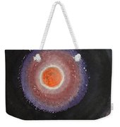 Black Moon Day Original Painting Weekender Tote Bag