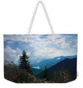 Black Mountain On Blue Ridge Weekender Tote Bag