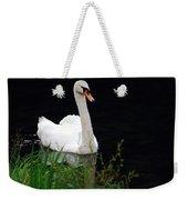 Black Mountain Swan Weekender Tote Bag