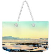 Black Mountains And Vale Of Usk Weekender Tote Bag