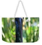 Black Necked Stork Weekender Tote Bag