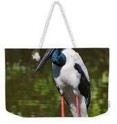Black-necked Stork Weekender Tote Bag