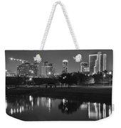 Black Night In Fort Worth Weekender Tote Bag