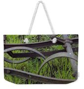 Black On Green Weekender Tote Bag