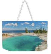 Black Pool, Yellowstone Weekender Tote Bag