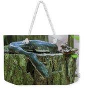 Black Rat Snake Weekender Tote Bag