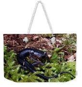 Black Salamander Weekender Tote Bag