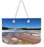 Black Sand Basin In Yellowstone National Park Weekender Tote Bag