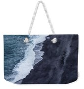 Black Sand Beach, Iceland Weekender Tote Bag
