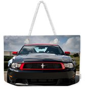 Black Stallion Weekender Tote Bag