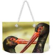 Black Storks Jerez De La Frontera Spain Weekender Tote Bag