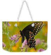 Black Swallowtail Weekender Tote Bag by Robert Frederick