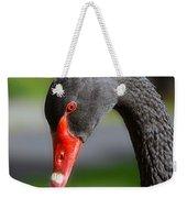 Black Swan Portrait Weekender Tote Bag