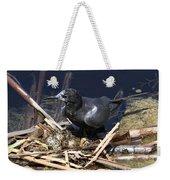 Black Tern On Nest Weekender Tote Bag