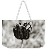 Black Tulip Weekender Tote Bag