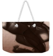 Black Vector Apparition Weekender Tote Bag