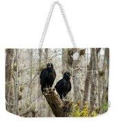 Black Vultures Weekender Tote Bag