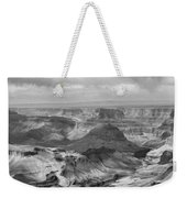 Black White Filter Grand Canyon  Weekender Tote Bag