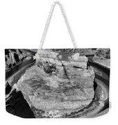 Black White Horseshoe Bend Arizona  Weekender Tote Bag