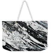 Black White Modern Art Weekender Tote Bag